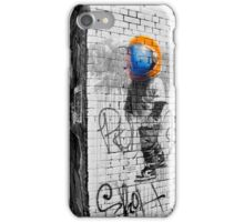 Space Boy, Graffiti Art, Hosier Lane iPhone Case/Skin