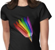 Feathered Pride Womens Fitted T-Shirt