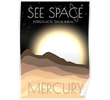See Space: Mercury Poster