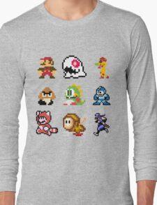 8 bit Long Sleeve T-Shirt