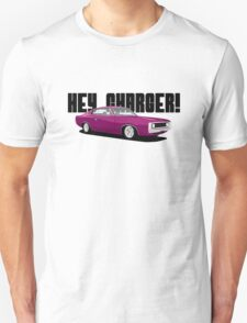 HEY CHARGER - PINK T-Shirt