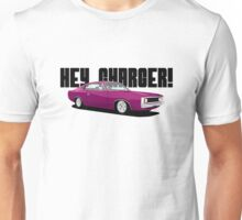 HEY CHARGER - PINK Unisex T-Shirt