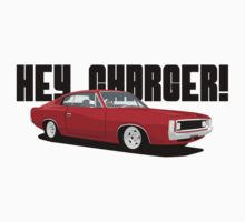HEY CHARGER - RED by antdragonist