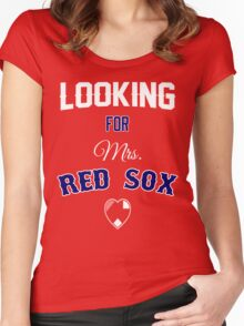 Looking for Mrs. Red Sox Women's Fitted Scoop T-Shirt