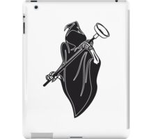 Death hooded toilet sucker Pümpel funny iPad Case/Skin