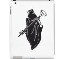 Death hooded toilet sucker Pümpel funny iPad Case/Skin