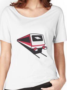 Train express train railway Women's Relaxed Fit T-Shirt