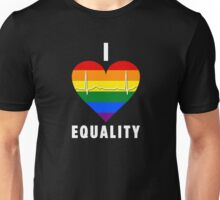 I Heart Equality - Pulse Edition Unisex T-Shirt