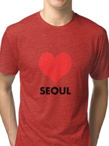 Love Seoul Tri-blend T-Shirt