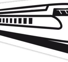 Train Railway Express train Sticker