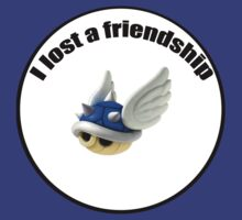 I lost a friendship by AWHybrid