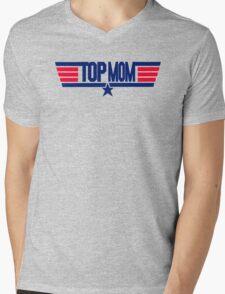 Top Mom Mens V-Neck T-Shirt