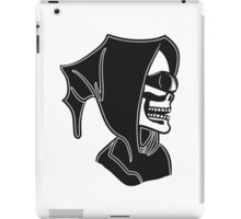 Death hooded sunglasses skull iPad Case/Skin