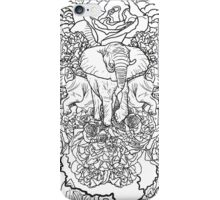 Celebrate Nature B&W iPhone Case/Skin