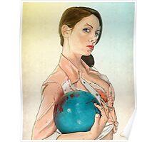 Slaughterhouse Starlets: Alison Poster