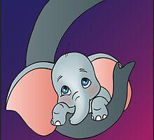 Disney - Dumbo by Lauren Eldridge-Murray