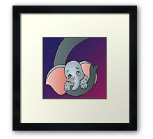 Disney - Dumbo Framed Print