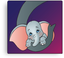 Disney - Dumbo Canvas Print