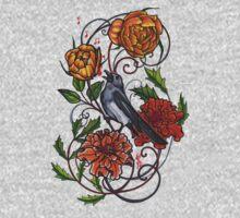 singing magpie shirt by resonanteye