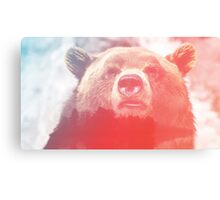 Lonely Mountain Bear Canvas Print