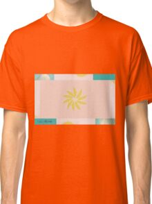 Beach and Sun Collage Classic T-Shirt