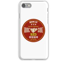 Boxing Cat Brewery Ring Side Red Chinese Beer iPhone Case/Skin