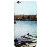 Winter Boats iPhone Case/Skin