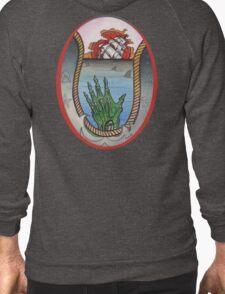 nautical tattoo; shipwreck and zombie sailor, sharks T-Shirt