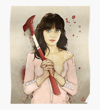 Slaughterhouse Starlets: Zooey Poster