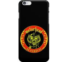 Motorhead (No Remorse) Colour 2 iPhone Case/Skin