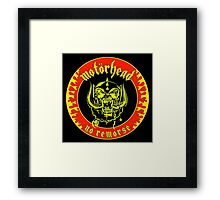 Motorhead (No Remorse) Colour 2 Framed Print