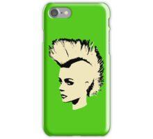 Punk Girl – bichrome print iPhone Case/Skin