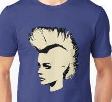 Punk Girl – bichrome print Unisex T-Shirt