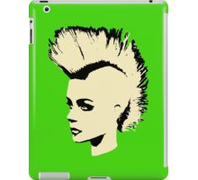 Punk Girl – bichrome print iPad Case/Skin