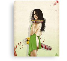 Slaughterhouse Starlets: Mary-Louise Canvas Print