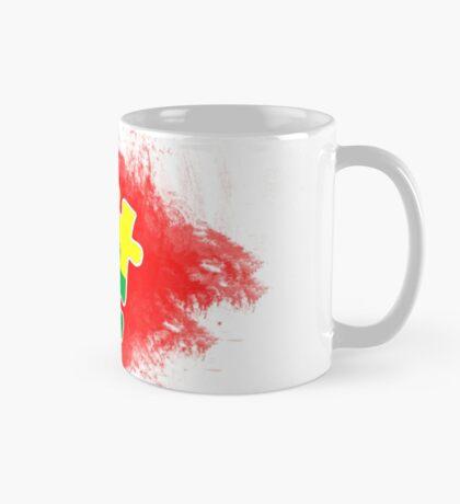 Autism Awareness Puzzle Red Mug