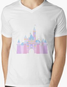 Magic Castle Mens V-Neck T-Shirt