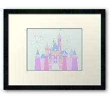 Magic Castle Framed Print