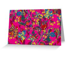 Nature in colors Greeting Card