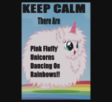 Pink Fluffy Unicorns Dancing On Rainbows!! by SaruChyo