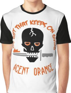 Agent Orange: The Gift That Keeps On Giving Graphic T-Shirt