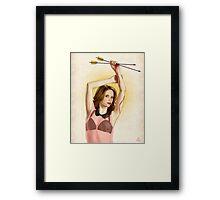 Slaughterhouse Starlets: Sarah Michelle Framed Print
