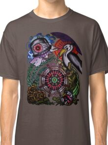 hold fast sailor's wife with pelican tattoo flash, shirts Classic T-Shirt