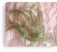 Green Ribbon Metal Print