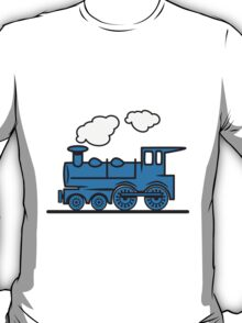Train railroad steam locomotive T-Shirt