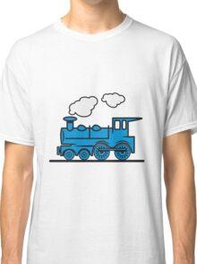 Train railroad steam locomotive Classic T-Shirt