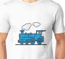 Train railroad steam locomotive Unisex T-Shirt