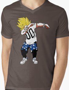 Super Saiyan Goku Dab Shirt - RB00466 Mens V-Neck T-Shirt