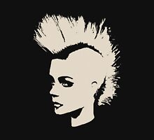 Punk Girl – unichrome print Unisex T-Shirt