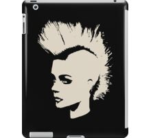 Punk Girl – unichrome print iPad Case/Skin